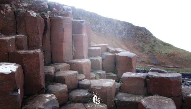 Piedras altas de la Calzada del Gigante