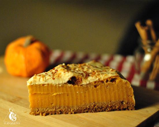 Receta de Samhain: tarta de calabaza