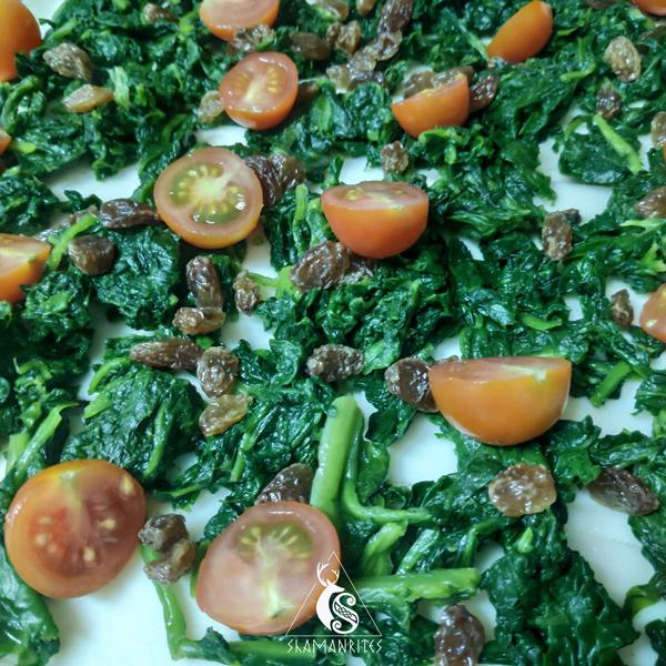 receta de Mabon: empanada de espinacas
