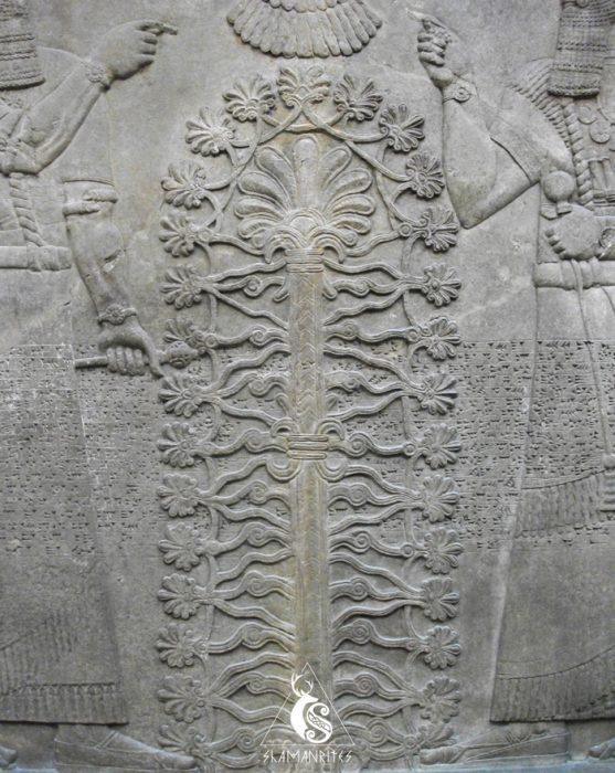 Árbol de la vida de la mitología sumeria