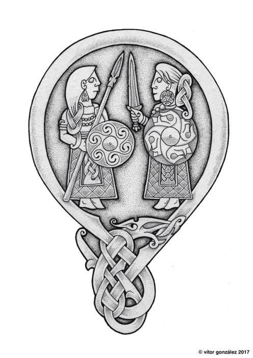 entrevista Vitor González: arte celta y nórdico