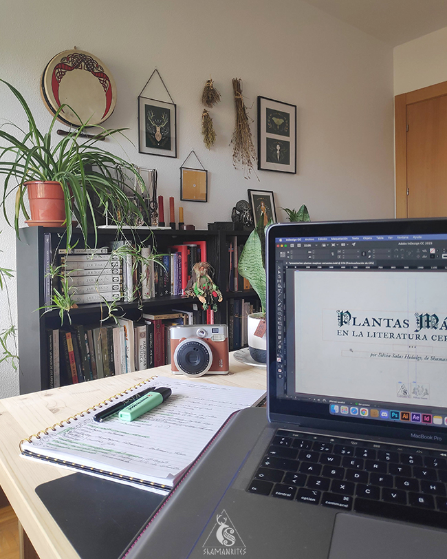 plantas mágicas en Cervantes