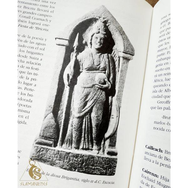 Imbolc y la diosa Brigantia