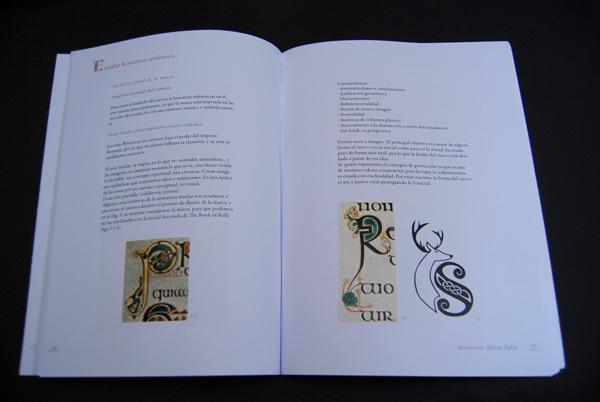 Logotipo y libro de Kells
