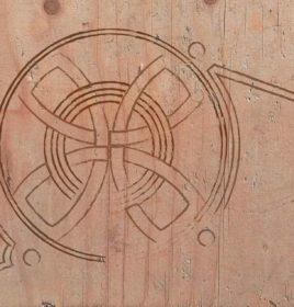 Harp Mary Queen