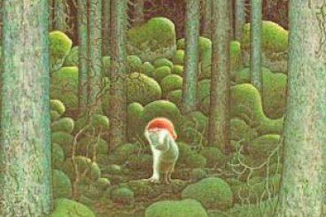 Yule, el Solsticio de Invierno ilustrado por Lennart Helje