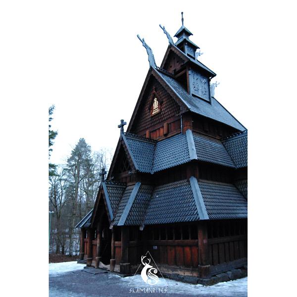 museo de folklore noruego iglesia de gol