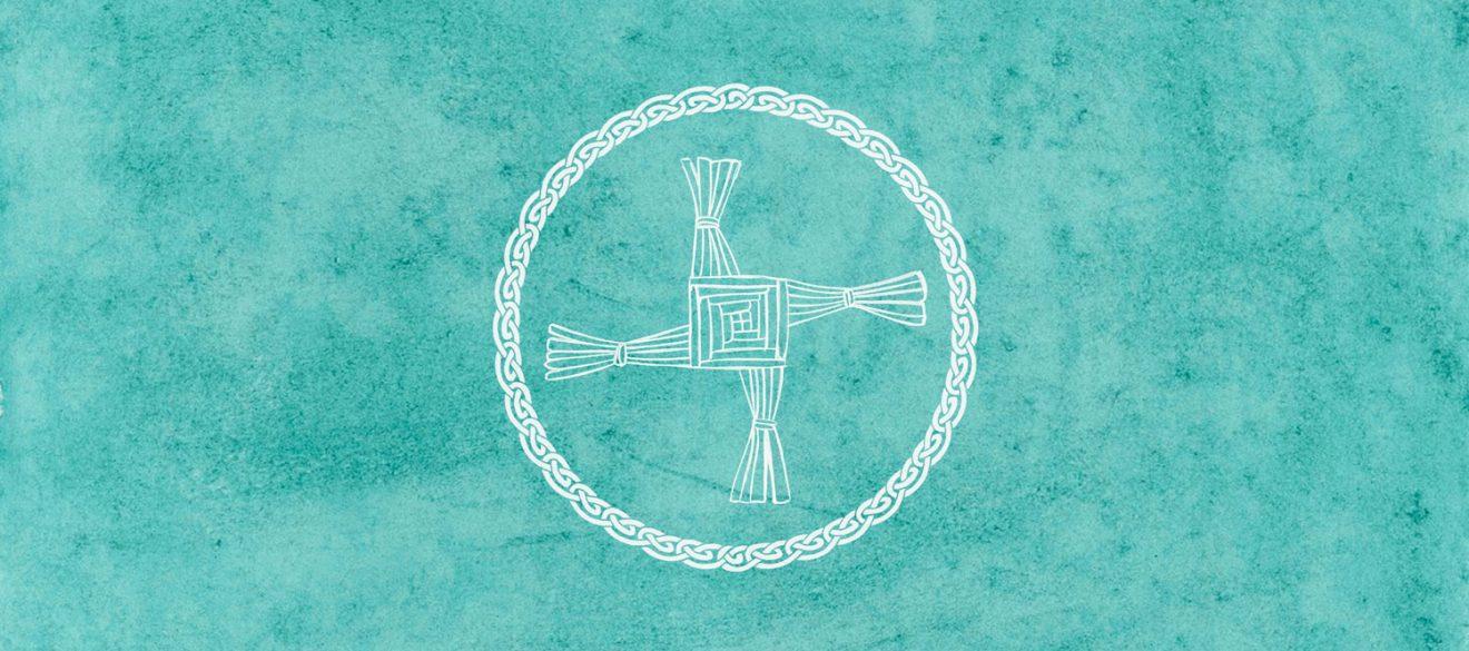 Imbolc Brigid cross