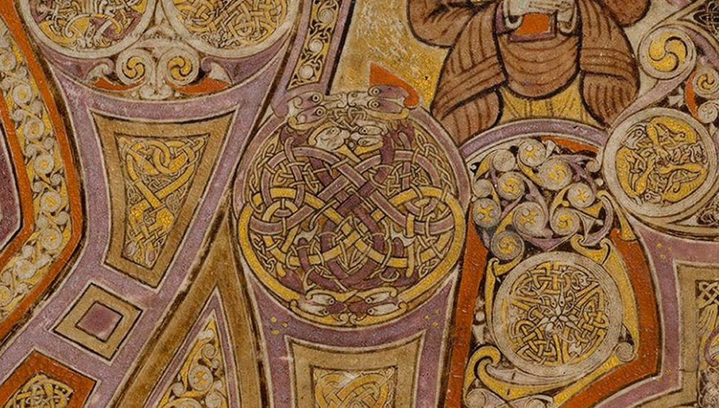 Book of Kells, arte insular irlandés