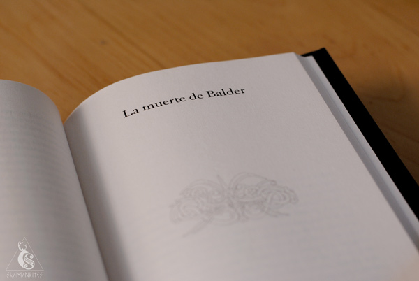 interior del libro Mitos Nórdicos de Neil Gaiman