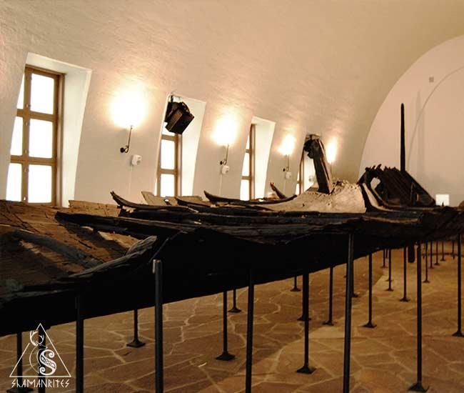 Barco Tune museo barcos vikingos de Oslo
