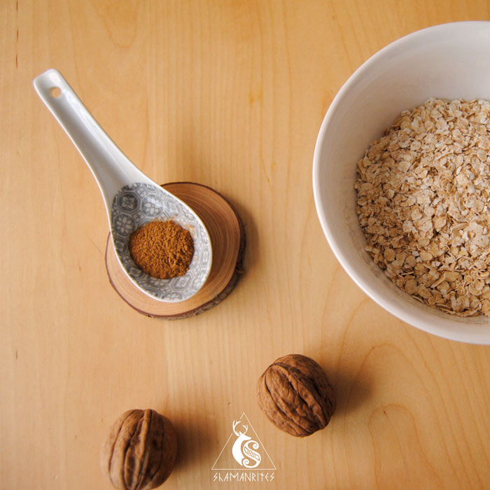 copos de avena para preparar porridge