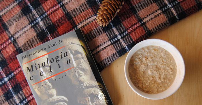 un porridge casero y un buen libro