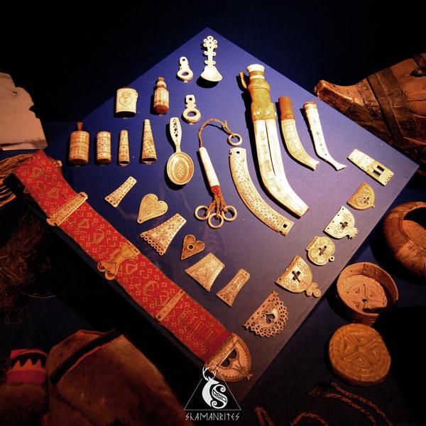 museo de folklore noruego objetos de la cultura sami