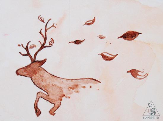 ciervo y Cernunnos en mitología y folklore