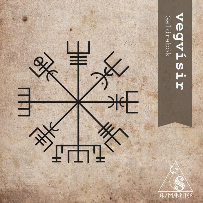 Vegvisir, versión del Galdrabok. Símbolo islandés.
