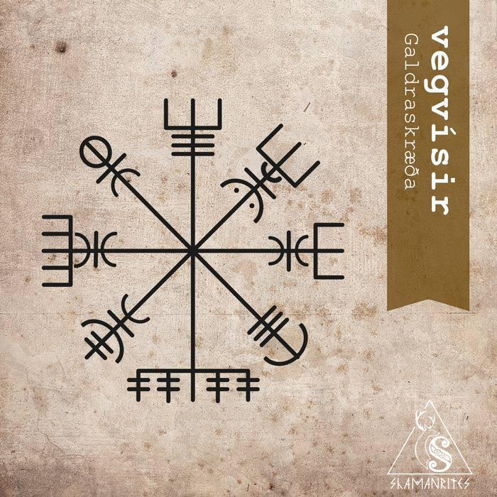 Vegvísir Símbolo Mágico De Origen Islandés Utilizado Por Los Vikingos