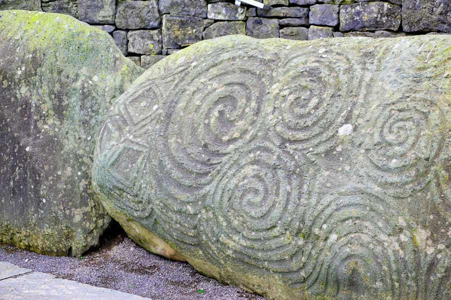 Trisquel, simbolismo celta
