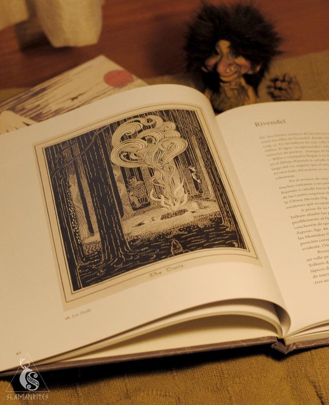 Troll ilustración de Tolkien
