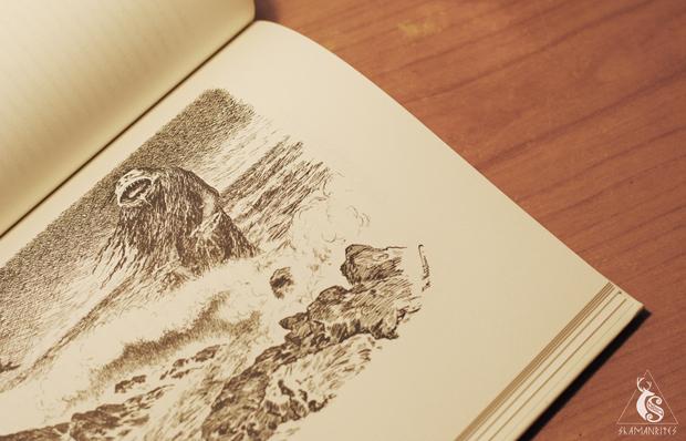 Troll ilustración de Theodor Kittelsen