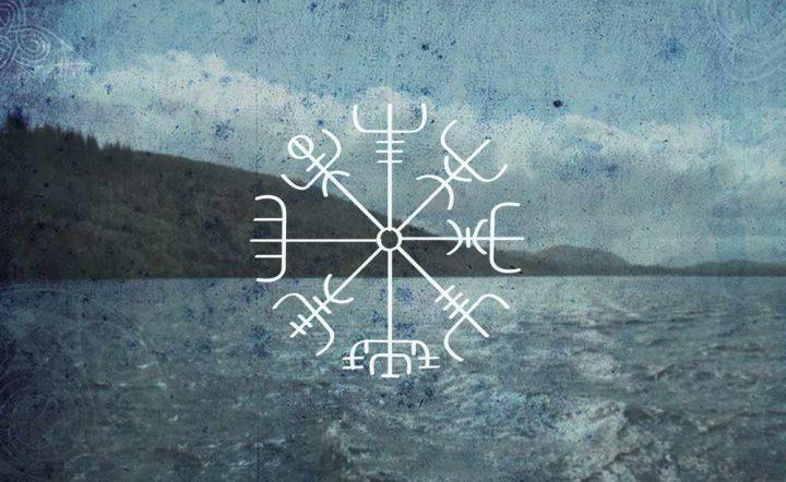 vegvisir, símbolo islandés para encontrar el camino